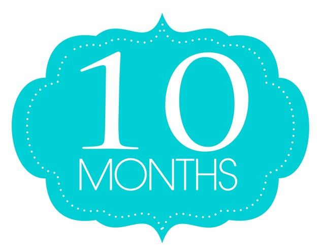 10 месяцев ребёнку открытки 84