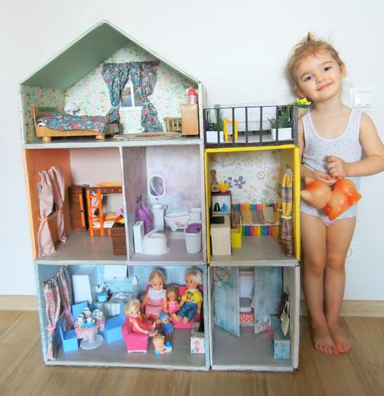 Как сделать домик своими руками для дочки 24