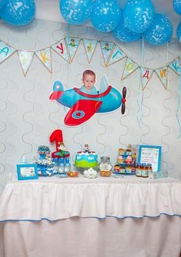 Фотозона для мальчика 1 год своими руками