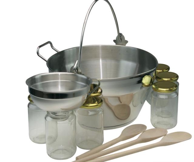 Посуда для приготовления малинового варенья