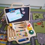 Бизиборд-чемодан