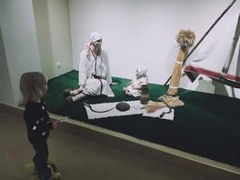 Первый поход в музей