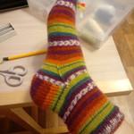 Полосатые носки 😂
