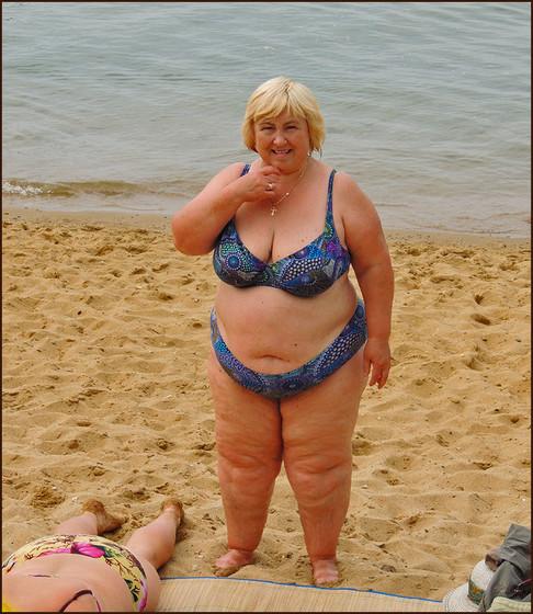 Зрелые жирные тетки