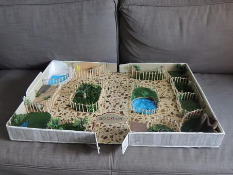 Зоопарк своими руками в коробке