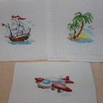 """Алиса """"Пальмовый островок"""", Алиса """"Кораблик"""" и Алиса """"Самолетик"""""""