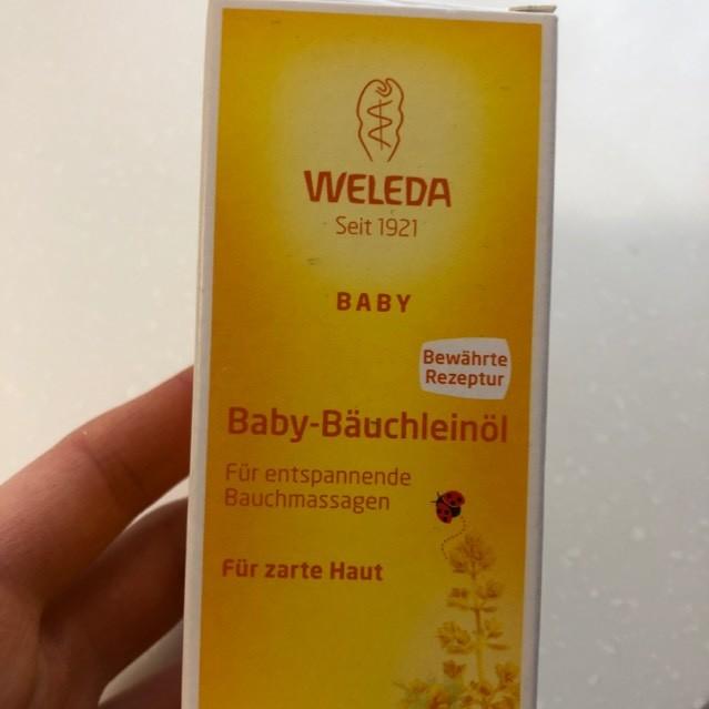 Масло для массажа животика младенцев