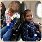 Как прошел наш первый перелет!😂