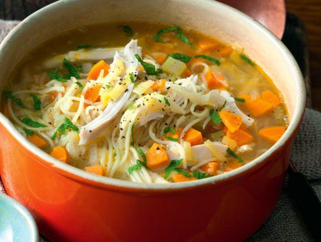 Как приготовить вкусный куриный суп