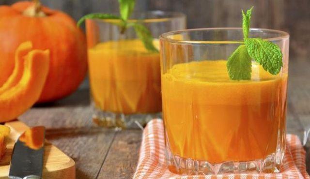Тыквенный сок без лимонной кислоты