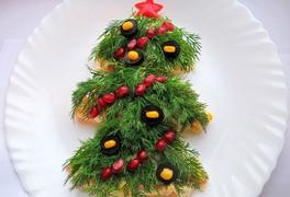 ТОП-10 салатов на Новый год 2018!
