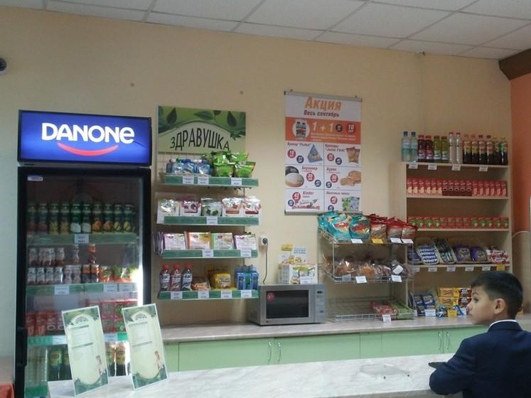 В школах Симферополя наложили табу на продажу вредной продукции