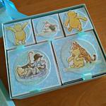 Медово-сладкий комплект с Винни Пухом для малыша (альбом и мамины сокровища)