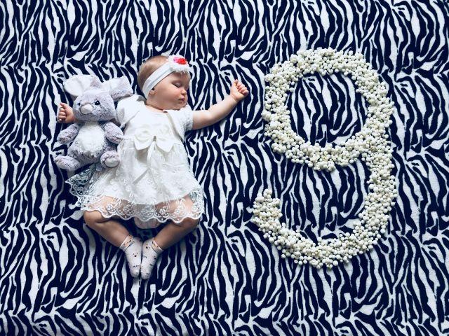 Открытки, картинки девочке на 9 месяцев